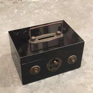 日本🇯🇵製 懷舊 密碼 錢箱