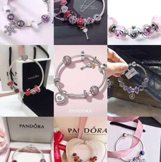 PANDORA 專櫃同款純銀手鐲 頸鏈 原裝進口 設有售後服務 有意帶圖查詢