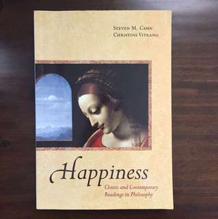 Happiness - Steven M. Cahn / Christine Vitrano