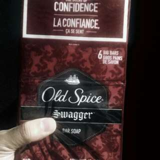 Old Spice Swagger Soap for Men Pack of 6