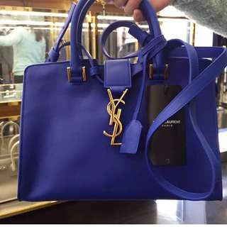 YSL Monogram Cabags Bag 電光藍色⚡️⚡️全新現貨👏
