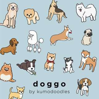 Doggo Pack (15 Pieces)