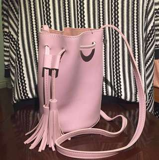 Purple Bucket Bag || Hibou