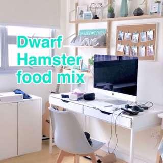 Hamster Help needed 🐹Dwarf hamster main food mix