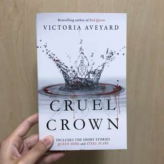 cruel crown - victoria aveyard (red queen 0.5)