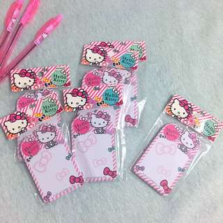 Hello Kitty Note Pad Memo 50 Sheets