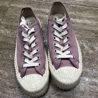 韓國餅乾鞋粉色