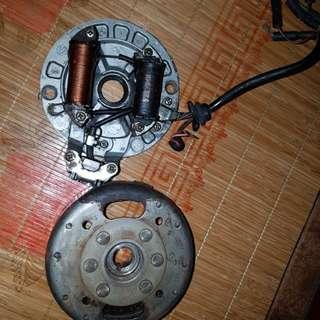 Papan coil dan magnet ex5 hp original moto