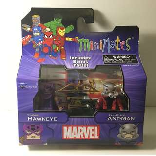 Marvel Minimates - Classic Hawkeye & Lab Attack Ant-Man