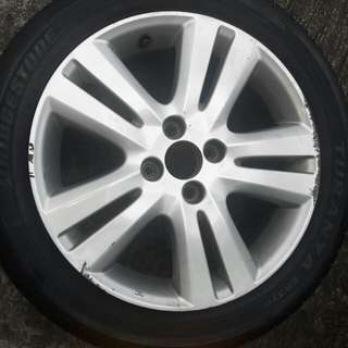 Honda jazz spare rims r16 (for trade)