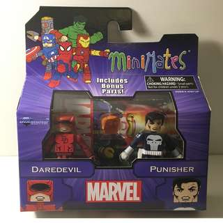 Marvel Minimates - Daredevil & Punisher