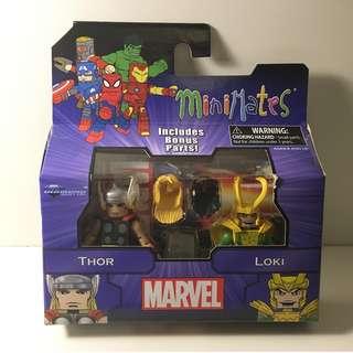 Marvel Minimates - Thor & Loki