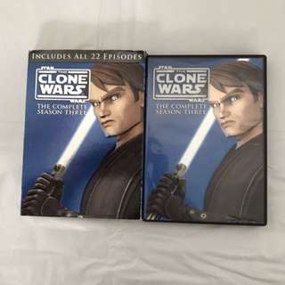 The clone war - 4 disks The complete season 3 (star war)