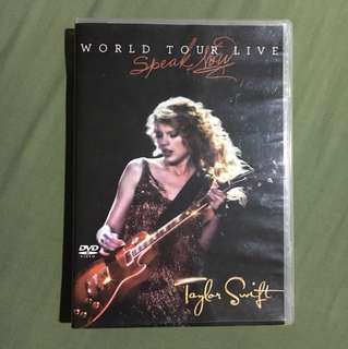 Taylor Swift Speak Now World Tour Live DVD