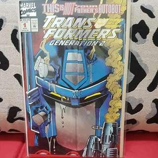Marvel Comics #1 Transformers GENERATION 2