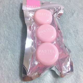 Pink Cream Case Travel Size 3 In 1