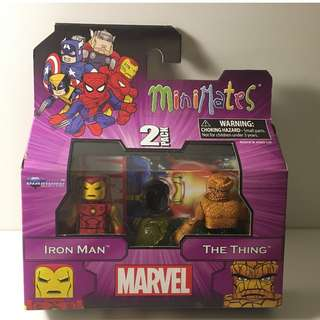 Marvel Minimates - Iron Man & The Thing