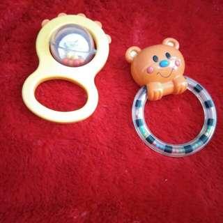 Preloved Import Mainan krincing bayi