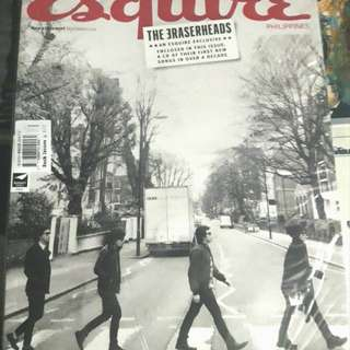 Eraserheads Esquire CD Album Magazine