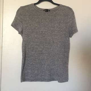 Grey knit tshirt