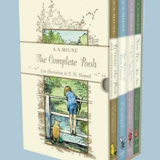eBook - Winnie the Pooh Complete Collection by A. A. Milne (4 Books)