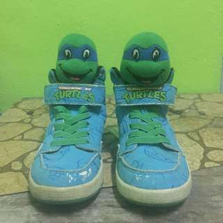 Kasut Ninja turtles