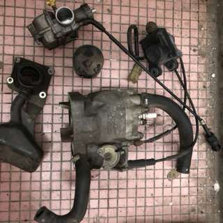 Honda NSR SP150 block, piston & carburetor etc