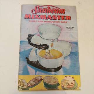 Sunbeam recipe book