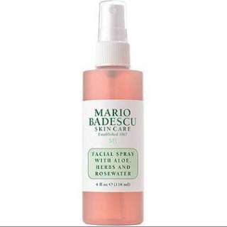 [PREORDER] Mario Badescu Facial Spray with Aloe, Herbs and Rose Water (118ml)