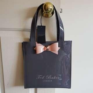 Ted baker small bow shopper bag