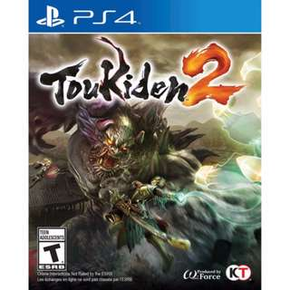 (Brand New Sealed) PS4 Game Toukiden 2.