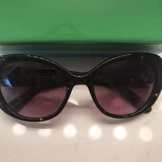 BRAND NEW KATE SPADE CAT EYE TORTOISE SHELL SUNNIES