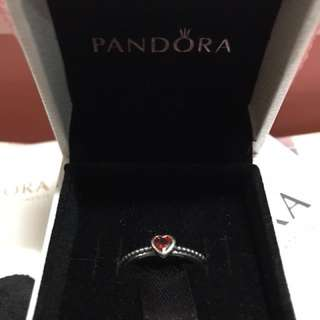 *Sale* Authentic Pandora delicate Heart ring