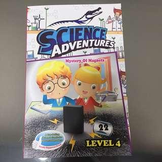 FREE POSTAGE Science Adventure Level 4