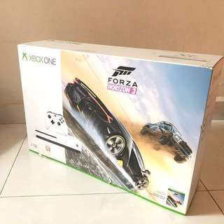 [BNIB] XBOX ONE S 1TB FORZA HORIZON 3 BUNDLE / 4K