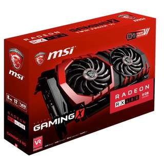 Selling MSI RX 480