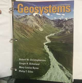 Geosystems - Fourth Canadian Edition (Robert W. Christopherson)