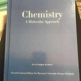Chemistry A Molecular Approach 2nd edition - Ryerson University Custom