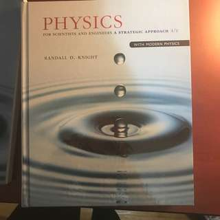 Physics for scientists and engineers a strategic approach textbook and 2 student work books