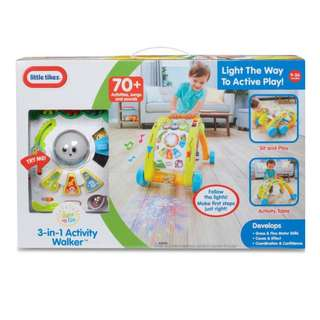 BN Little Tikes 'Light & Go 3 in 1 Activity Walker