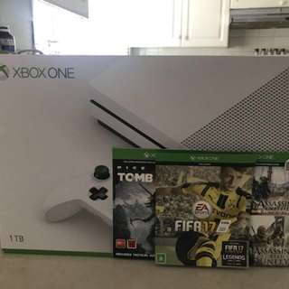 XBOX ONE S 1 TB + 3 games/ Brand new