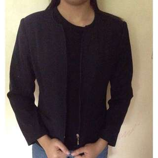 Black blazer coat jacket