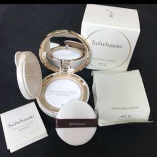Authentic Sulwhasoo Perfecting Cushion. Brand new in box