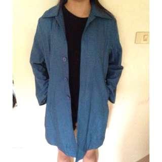 Blue coat jacket parka