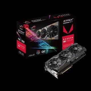 Asus ROG-STRIX-RXVEGA56-O8G-GAMING (AMD Radeon RX VEGA 56)
