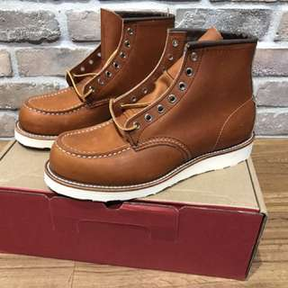 Red Wing 875 Size US 8D Factory second