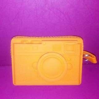 🚚 照相機造型零錢包(橘色)