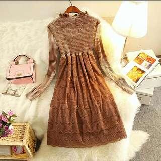 韓版時尚親膚連衣裙