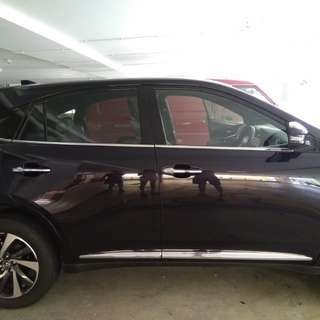 Toyota Harrier invisible car door bumper protection