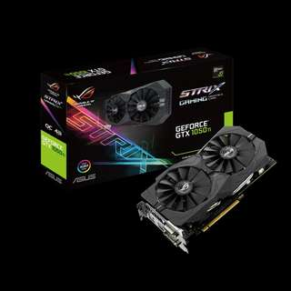 Asus ROG Strix GeForce® GTX 1050 Ti OC (ROG STRIX-GTX1050TI-O4G-GAMING)